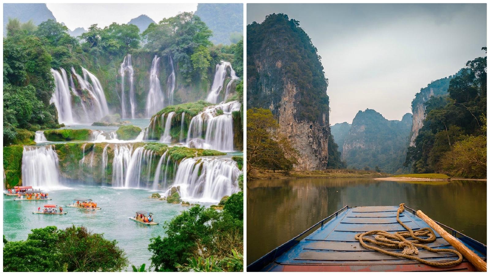 Ba Be Lake & Ban Gioc Waterfall