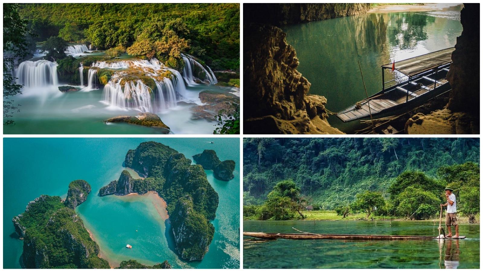 Ban Gioc Waterfall - Be Be Lake - Ha Long Bay