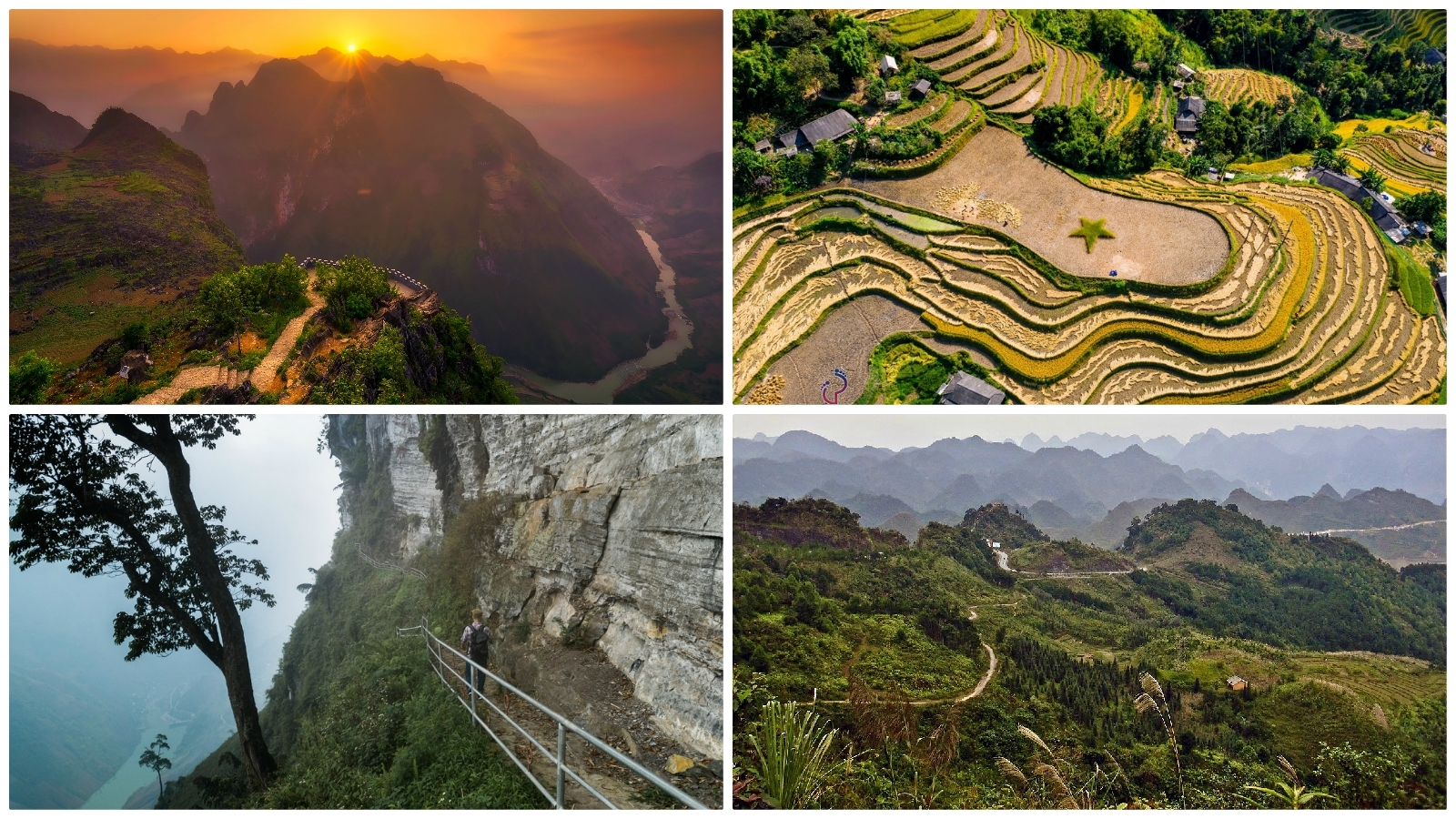 The landscape of Ha Giang