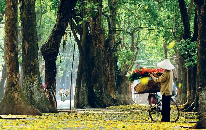 Hanoi in The Autumn