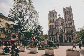 Hanoi Old Quarter - Joseph's Cathedral
