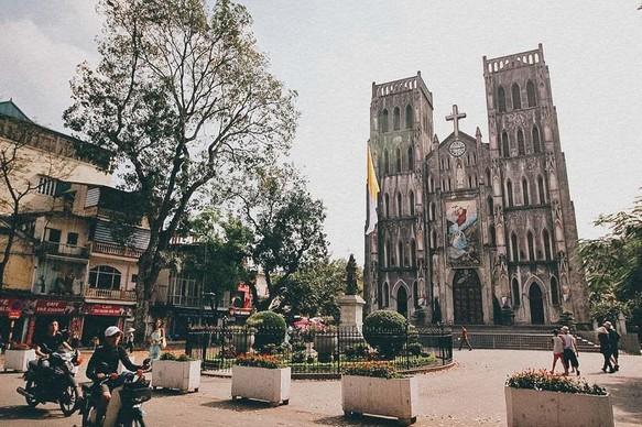 Hanoi Old Quarter - Joseph's Cathedral