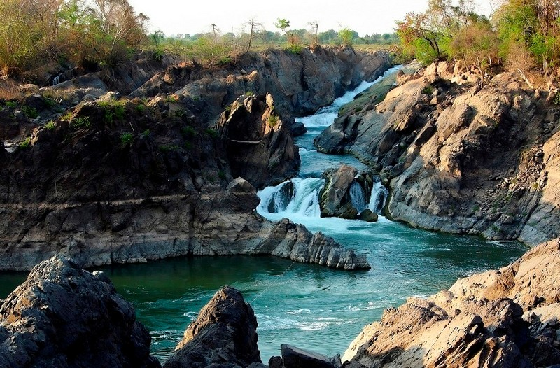 four thousands islands in Laos