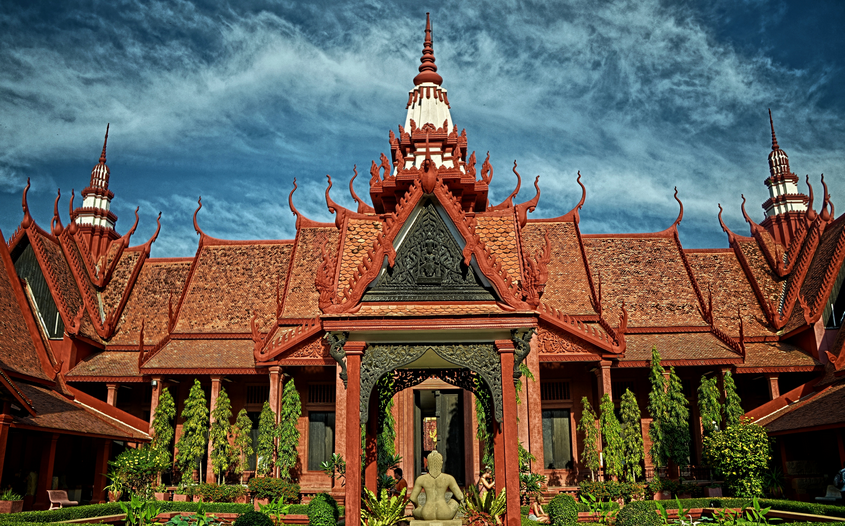 Cambodian National Museum - - Top 10 Tourist Attractions in Cambodia