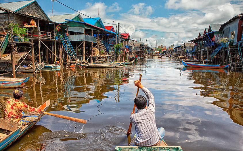 Tonlé Sap Lake - cambodia travel guide