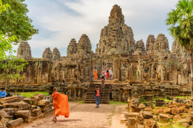 op 10 tourist attractions in Cambodia