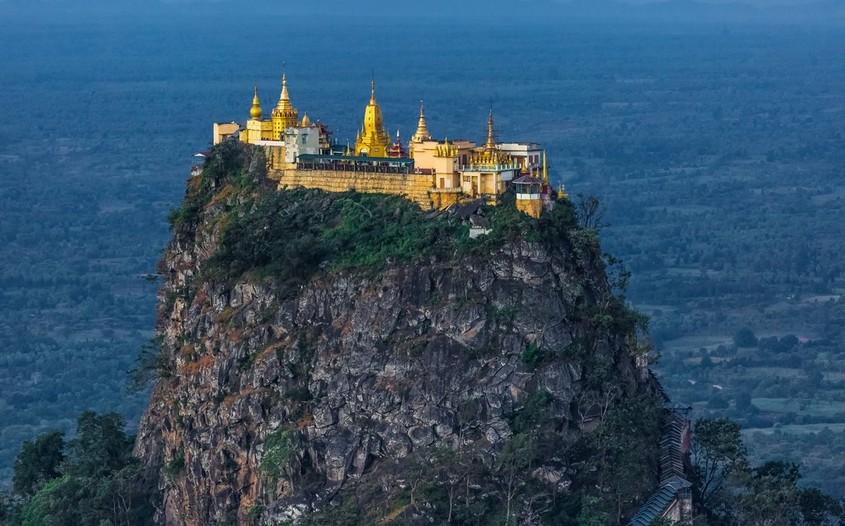 Mount Popa - best destinations to visit in Myanmar