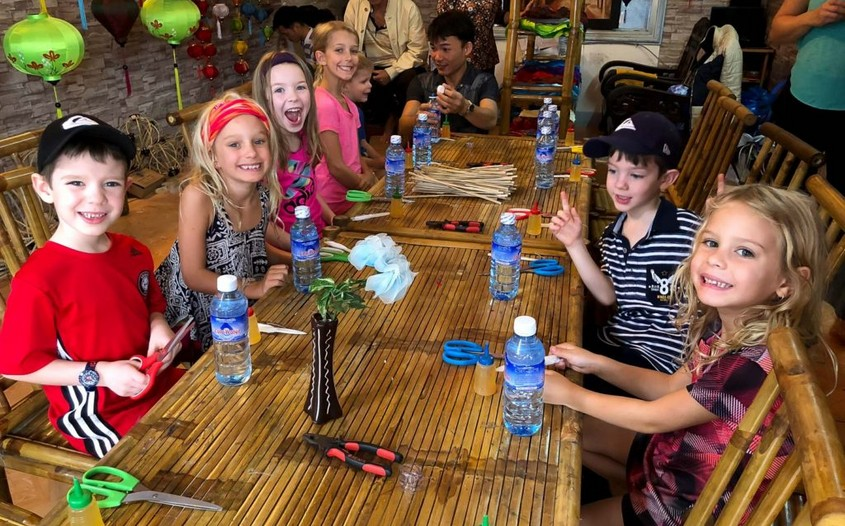 Hoi An Lantern making - best kid-friendly activities in Vietnam