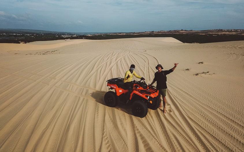 ATV at Mui Ne Sand Dunes
