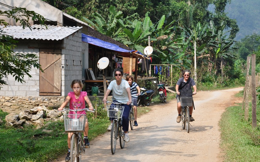 cycling in ba be national park