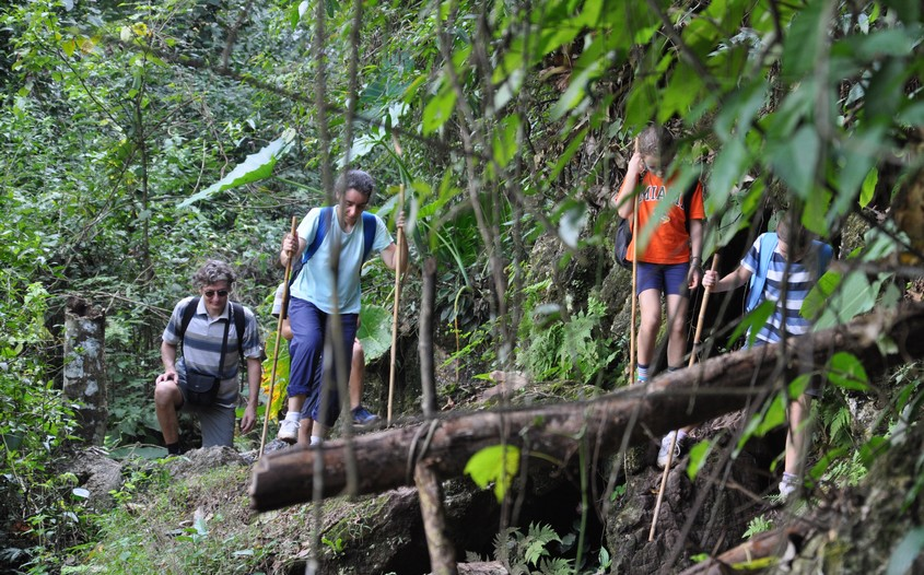 trekking in ba be national park