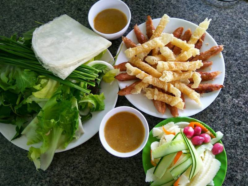 Vietnamese Grilled Pork Sausage