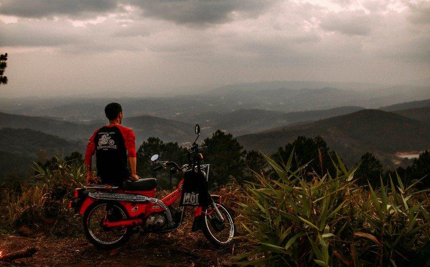 motorbike in Dalat