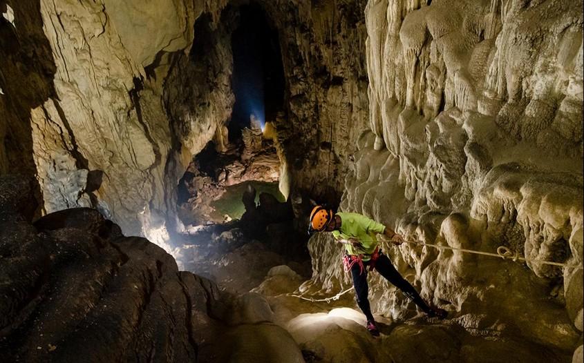 explore Son Doong cave - Vietnam family adventure holidays