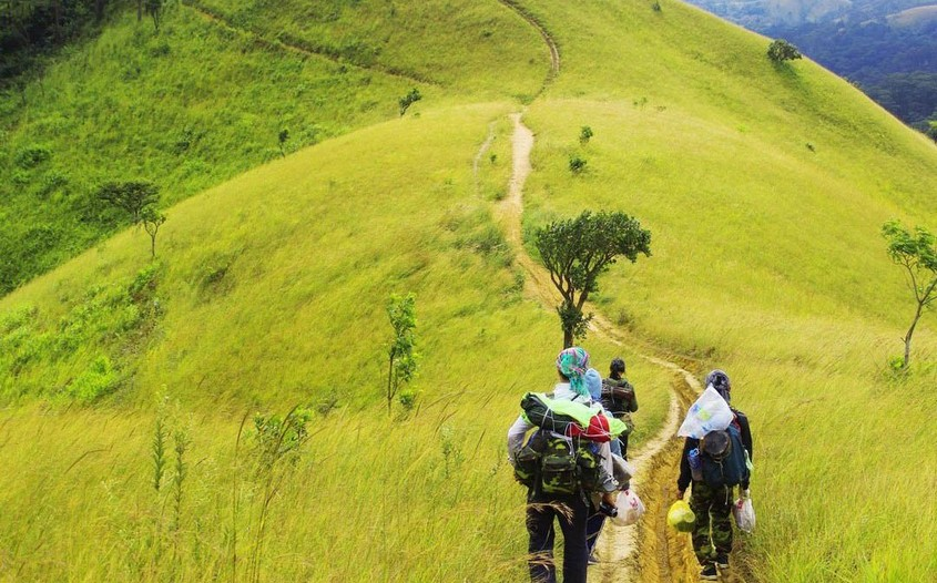 trekking in ta nang phan dung