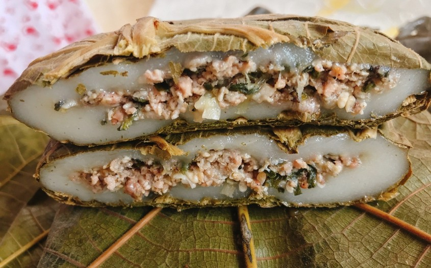Ant's Egg sticky rice cake in cao bang