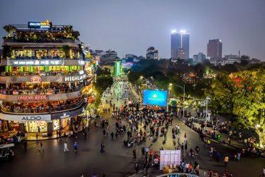 hanoi old quarter at night virtual tour